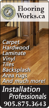 Flooring Works - Milton Ontario Carpet, Hardwood, Ceramics and Backsplash Installation