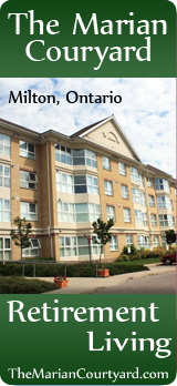Marian Courtyard - Retirement Living - Independent Living - Milton Ontario