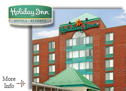 Holiday Inn Airport West - Serving to Milton, Meadowvale, Mississauga, Toronto Ontario - Airport Hotel Accommodations