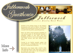 Jabberwock Guest House - Bed and Breakfast - Milton Ontario Bed and Breakfastspacious suites, complimentary daily hot and cold full breakfast buffet, full signing privileges for food & beverage at the adjacent Marquis Bistro Restaurant & Grill.